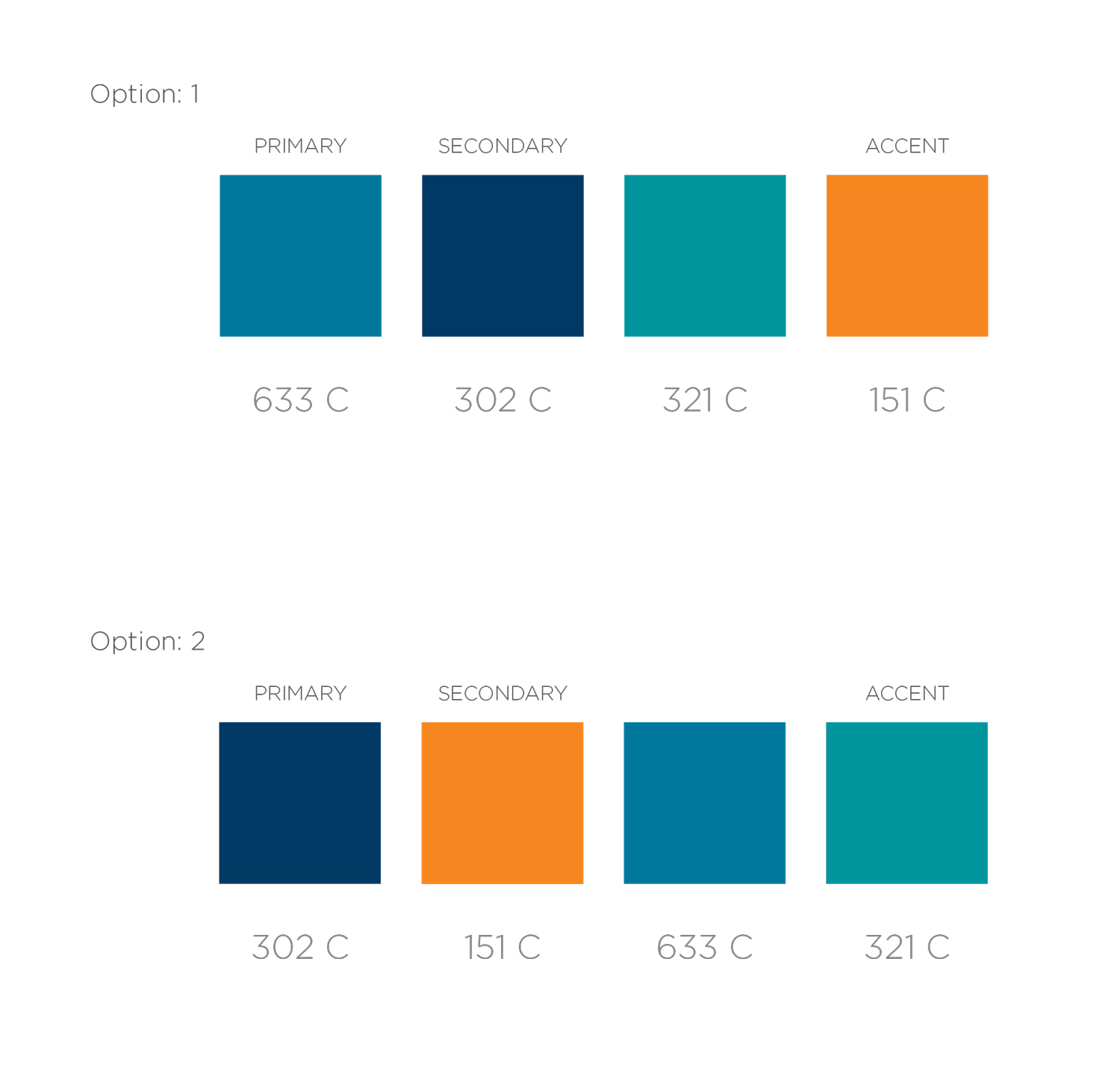Color palette options for Sailfish Group