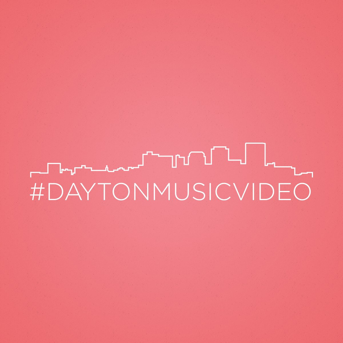 A hashtag design for the Dayton Music Video